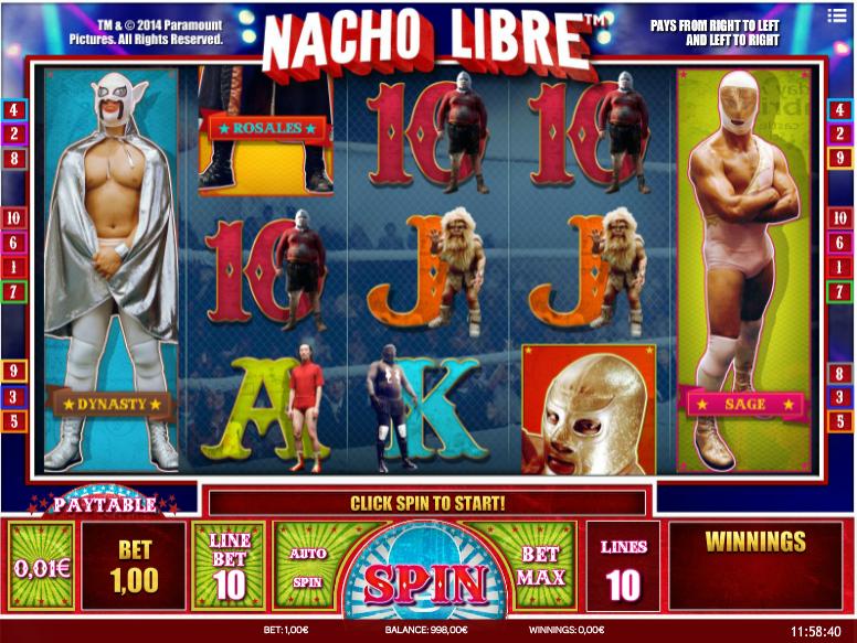 Nacho Libre kostenlos spielen