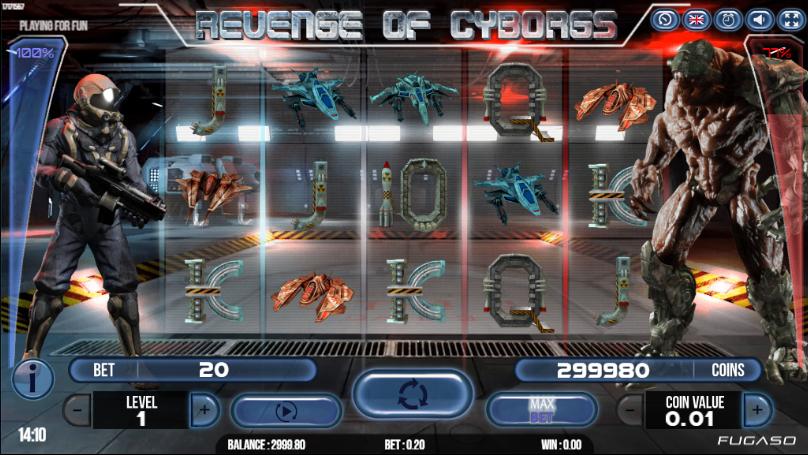 Spiele Revenge Of Cyborgs - Video Slots Online
