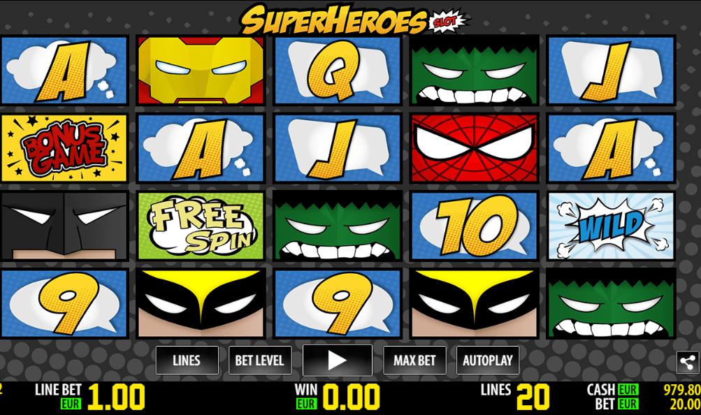 Super Heroes WM
