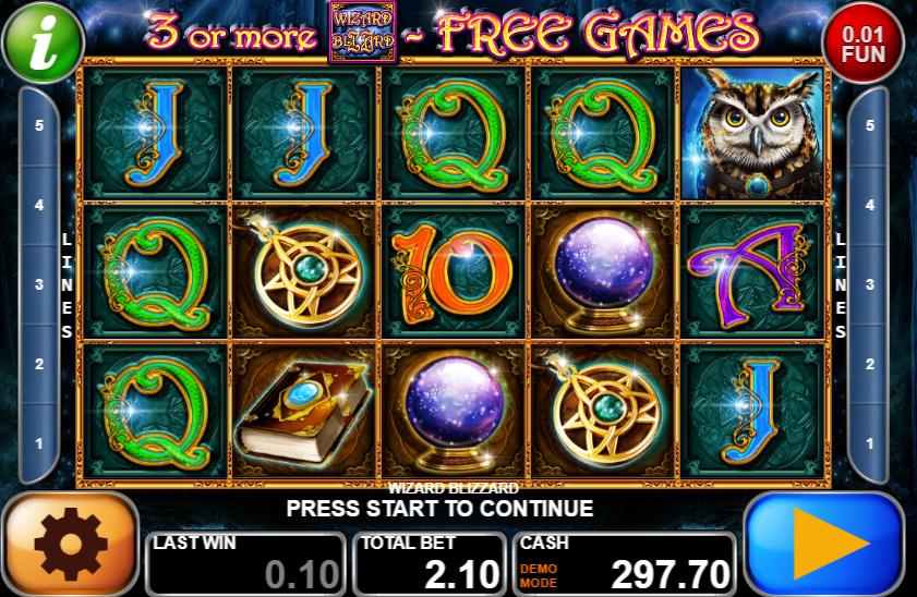 Hot Blizzard Online Spielautomat