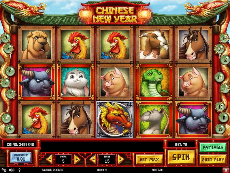 Chinese New Year Spielautomat Kostenlos Ohne Anmeldung
