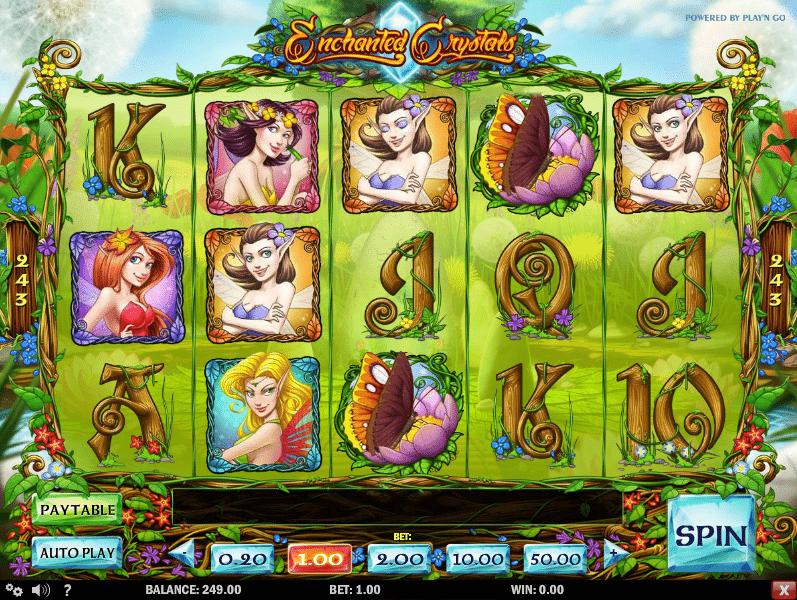Enchanted Crystal Kostenlose Spielautomaten Spielen