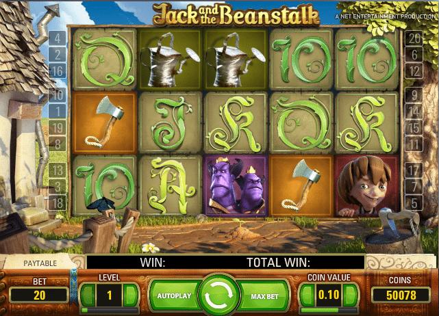 Jack and the Beanstalk Casino Spiele Kostenlos Spielen