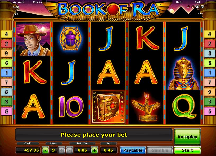 Book of Ra Kostenlos Novoline Spielautomat