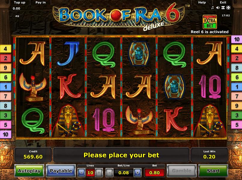 Spielautomat Book of Ra 6 Deluxe Online Kostenlos Spielen