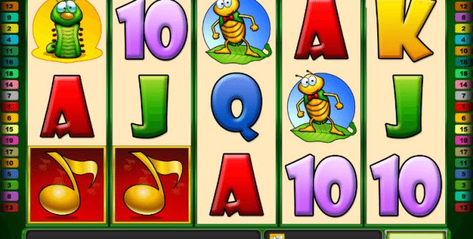 Bugs and Bees Spielautomat Online Kostenlos Spielen