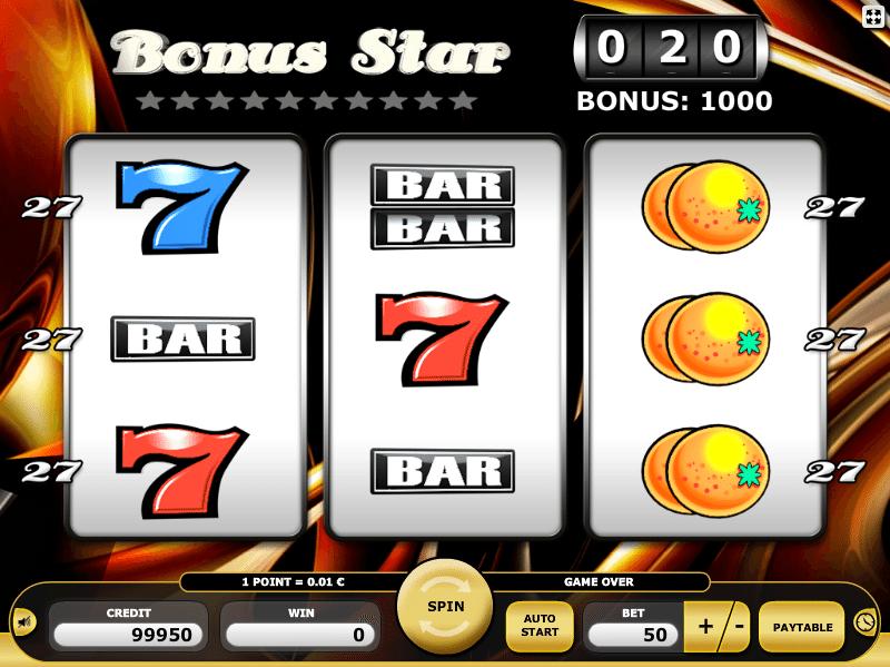 Online Spielautomat Bonus Star Kostenlos Spielen