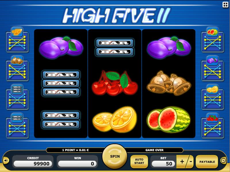 Kostenlos Spielautomat High Five II Online Spielen