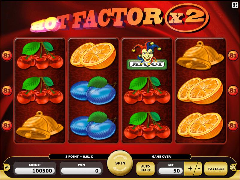 Hot Factor Kajot Spielautomat Spielen
