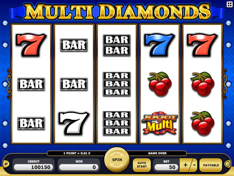Spielautomat Multi Diamonds Kostenlose Spielen