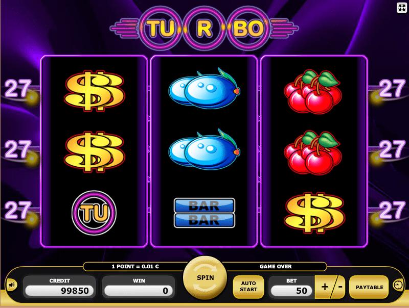 Turbo 27 Kajot Spielautomat Online