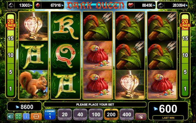 EGT Spielautomat Dark Queen Online Kostenlos