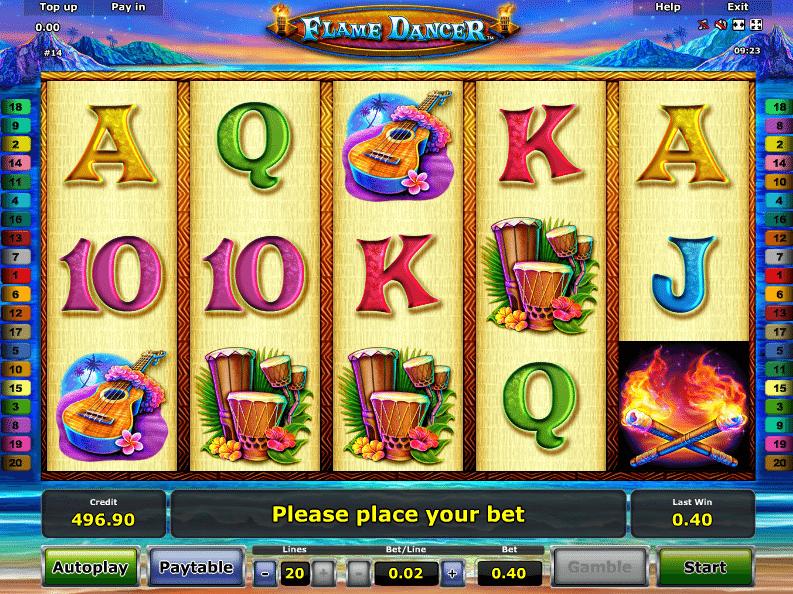 Flame Dancer Spielautomat Online Kostenlos Spielen