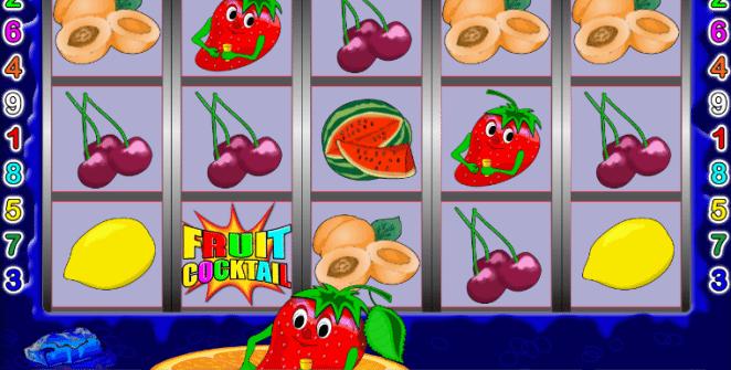 """Spielen Sie das """"Fruit Cocktail"""" Automatenspiel kostenlos"""
