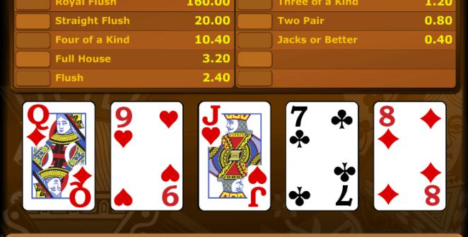 Video Poker Jacks or Better Novomatic Online Kostenlos