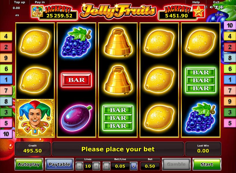 Casino Spiele Jolly Fruits Online Kostenlos Spielen
