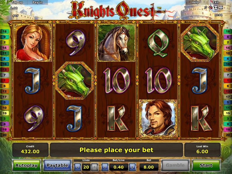 Casino Spiele Knights Quest Online Kostenlose Spielen