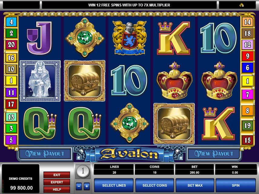 Spielautomat Avalon Online Kostenlos Spielen