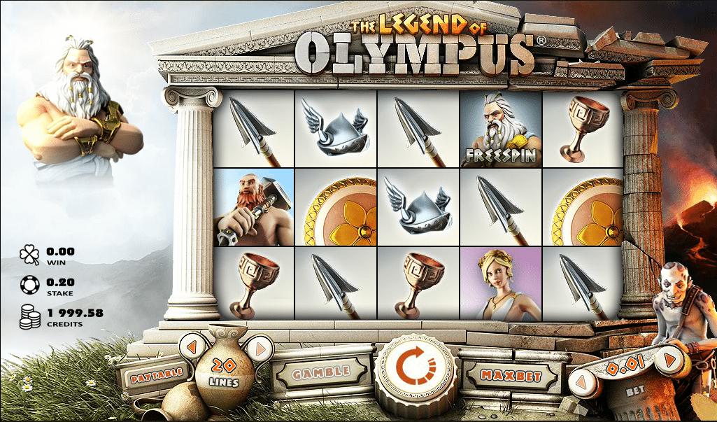 Spielautomat Legend Of Olympus Online Kostenlos Spielen