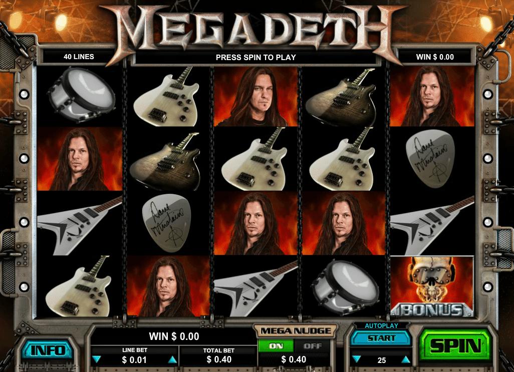 Megadeath Spielautomat Kostenlos Spielen