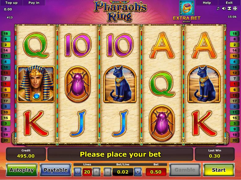 Casino Spiele Pharaohs Ring Online Kostenlos Spielen