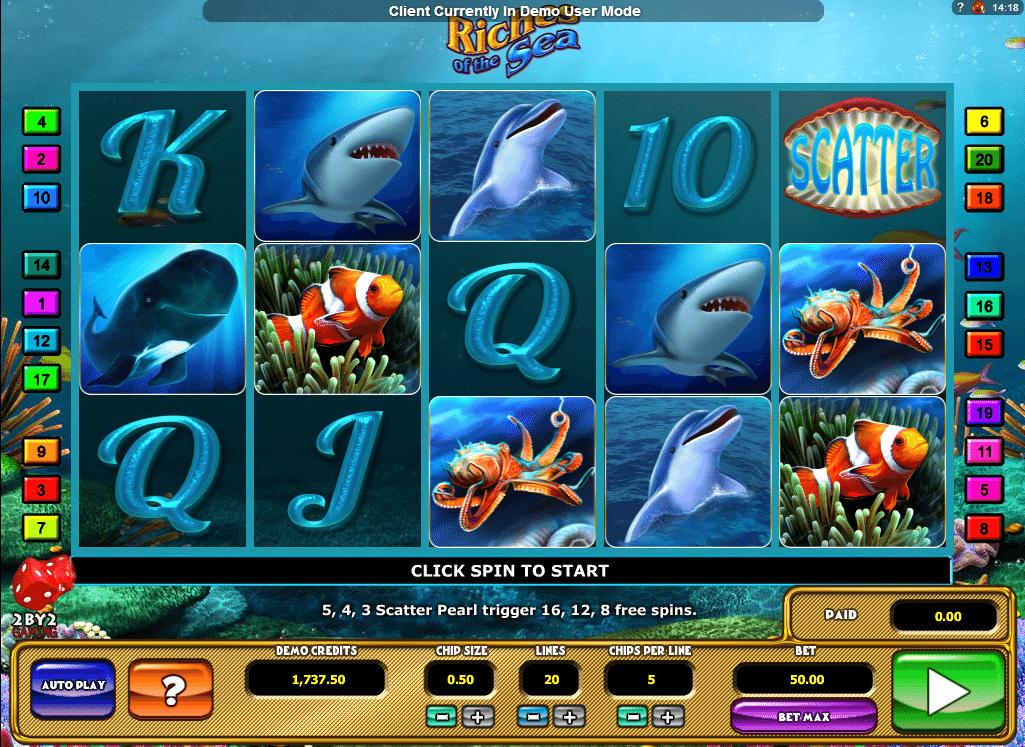 Casino Spiele Riches Of The Sea Online Kostenlos Spielen
