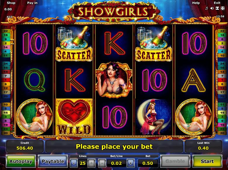 Spielautomat Showgirls Online Kostenlos Spielen