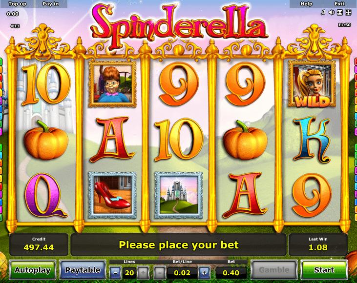 Spinderella Spielautomat Kostenlos Spielen