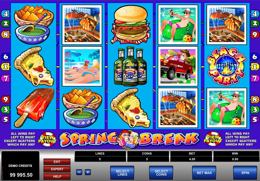 Casino Spiele Spring Break Online Kostenlos Spielen