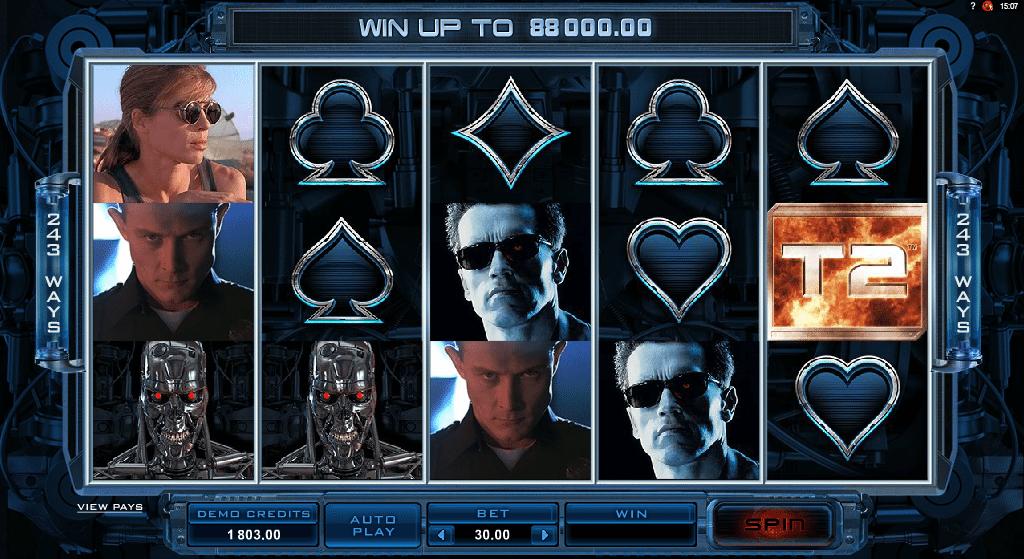 Spielautomat Terminator 2 Online Kostenlos Spielen