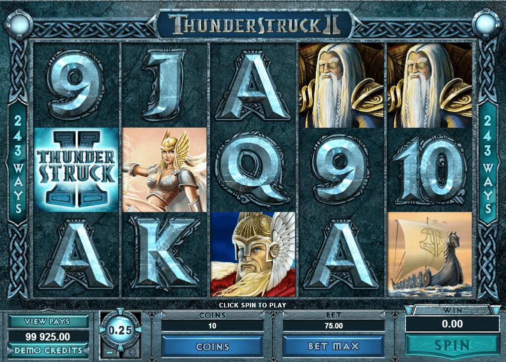 Kostenlose Spielautomat Thunderstruck 2 Online