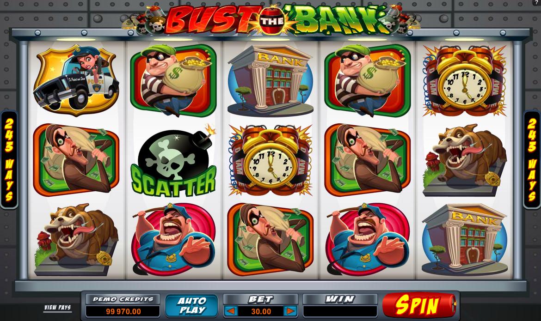 Spielautomat Bust The Bank Online Kostenlos Spielen