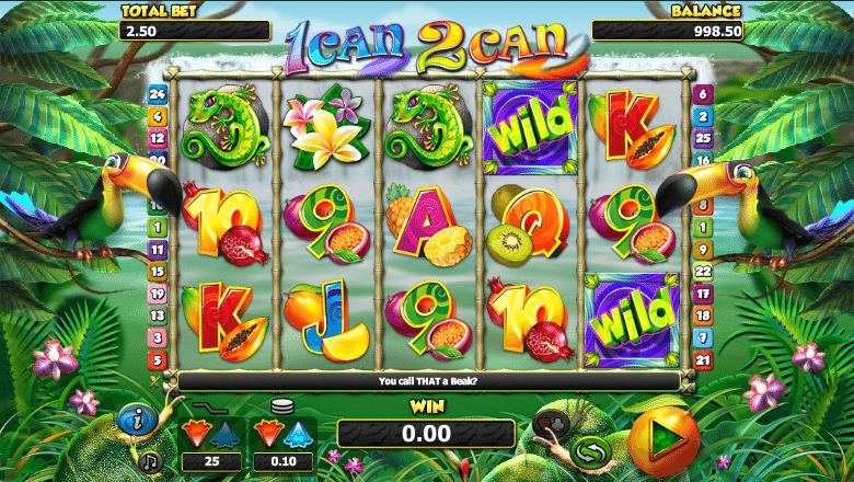 Kostenlose Spielautomat 1 Can 2 Can Online