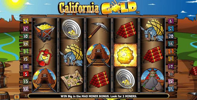 Spielautomat California Gold Online Kostenlos Spielen