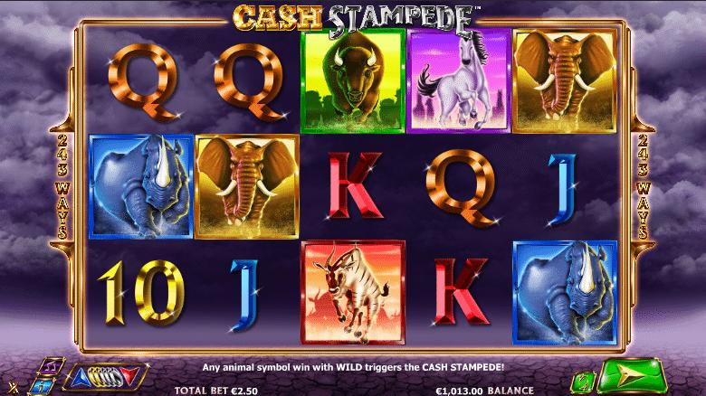 Kostenlose Spielautomat Cash Stampede Online