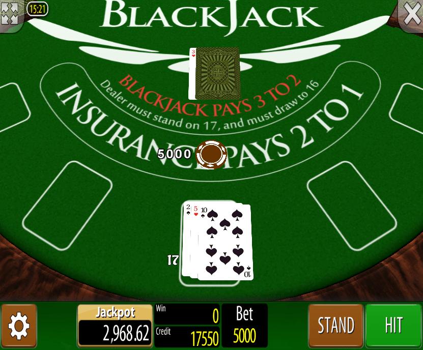 Blackjack Wazdan Spielautomat Kostenlos Spielen
