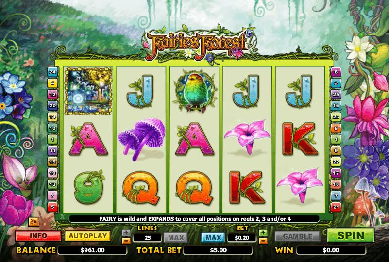 Casino Spiele Fairies Forest Online Kostenlos Spielen