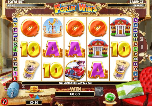 Spielautomat Foxin Wins Online Kostenlos Spielen