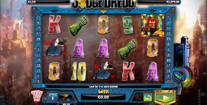 Judge Dredd Spielautomat Kostenlos Spielen