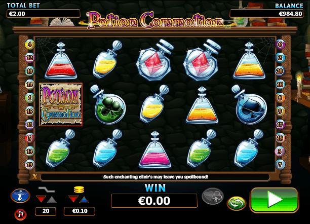 Kostenlose Spielautomat Potion Commotion Online
