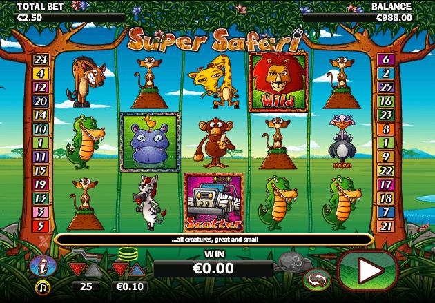 Casino Spiele Super Safari Online Kostenlos Spielen