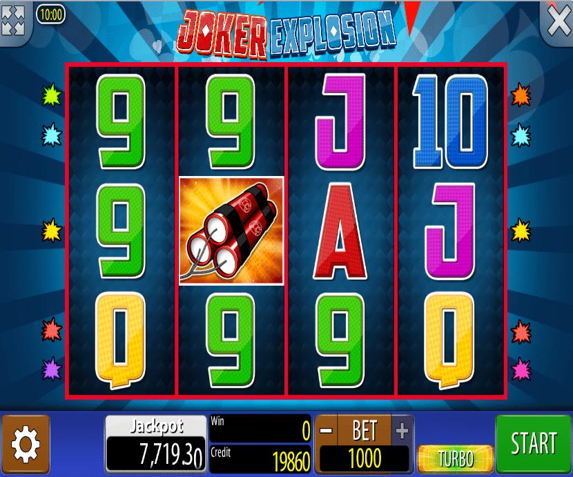 Casino Spiele Joker Explosion Online Kostenlos Spielen