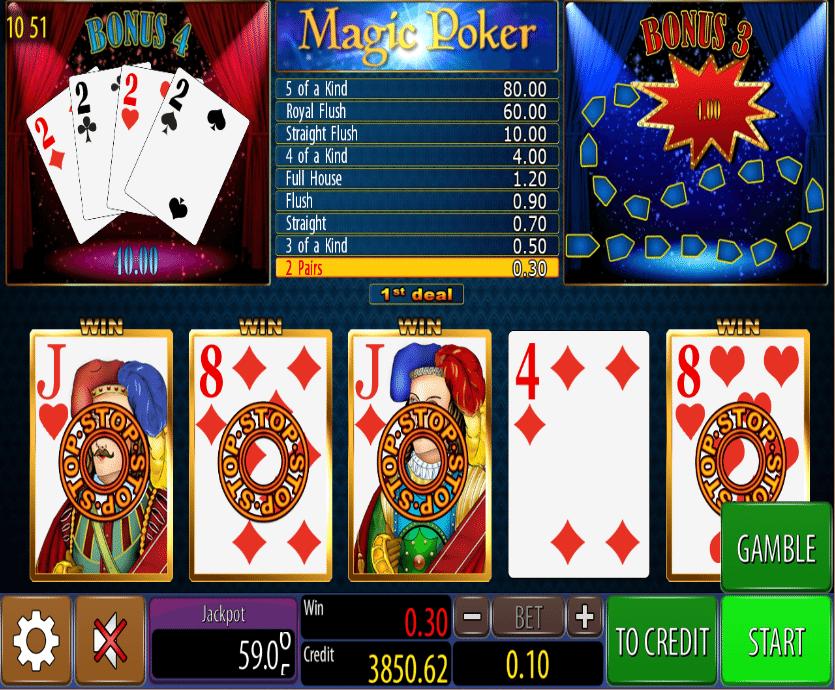 Casino Spiele Magic Poker Wazdan Online Kostenlos Spielen