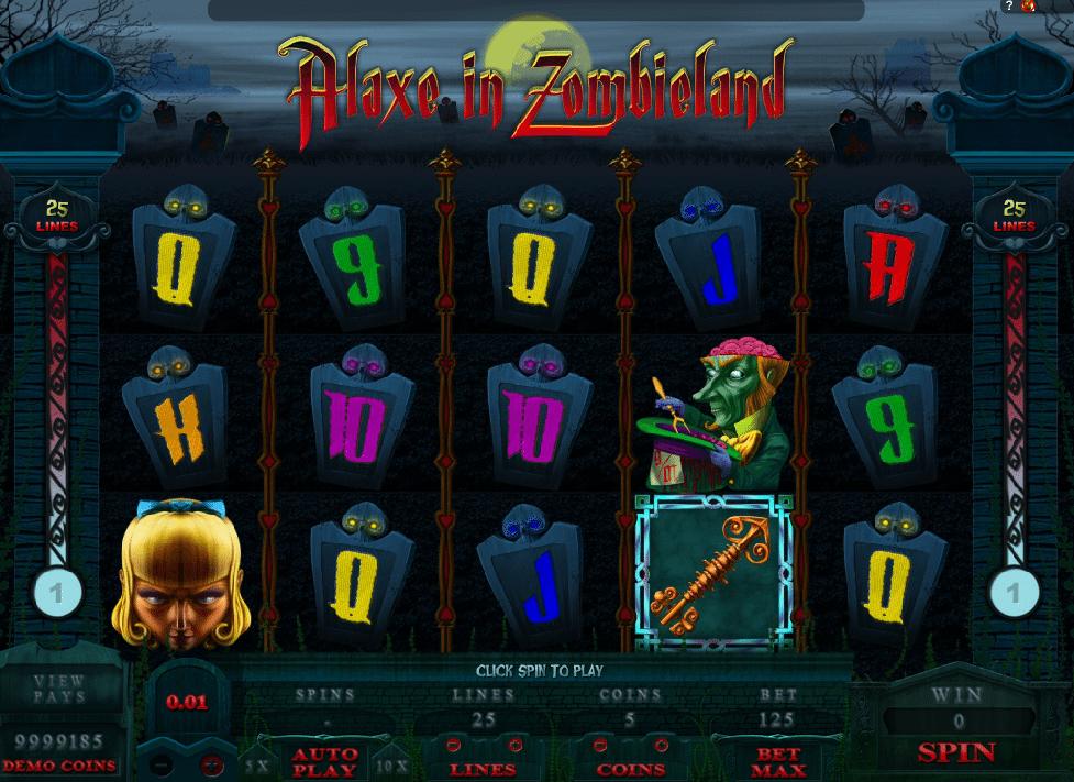 Alaxe In Zombieland Spielautomat Kostenlos Spielen