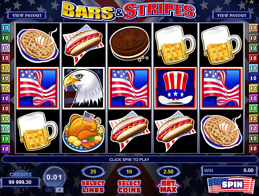 Casino Spiele Bars And Stripes Online Kostenlos Spielen