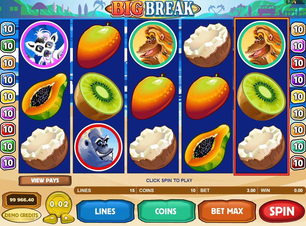 Kostenlose Spielautomat Big Break Online