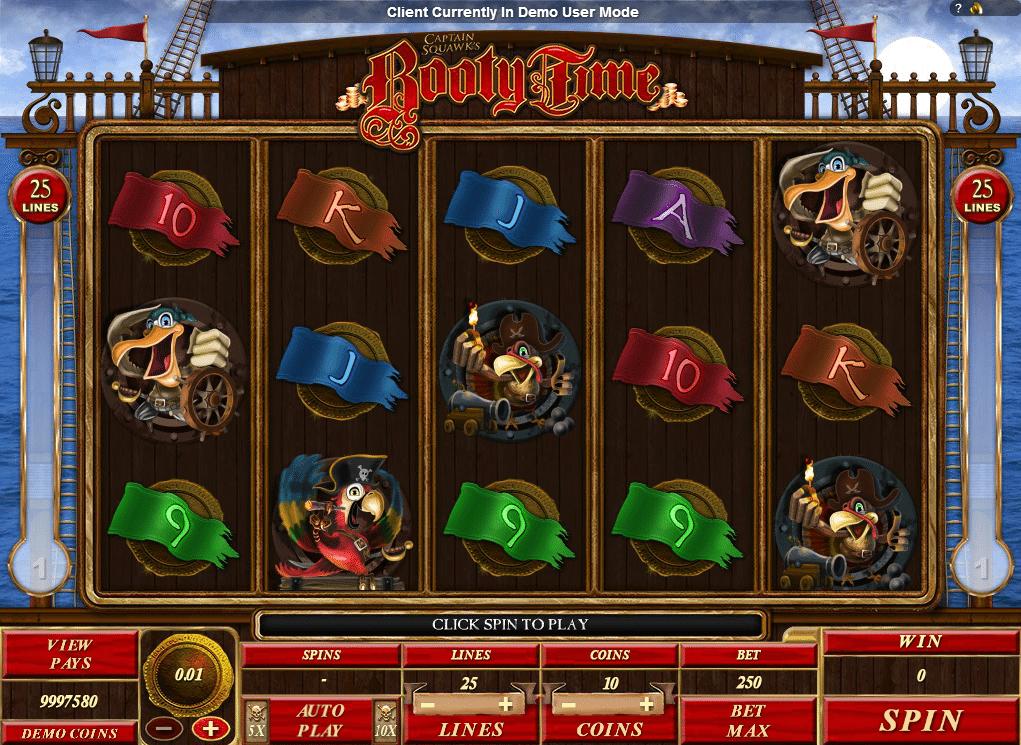 Booty Time Spielautomat Kostenlos Spielen