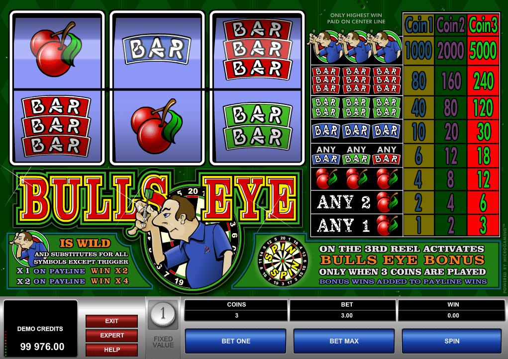 Bulls Eye Spielautomat Kostenlos Spielen