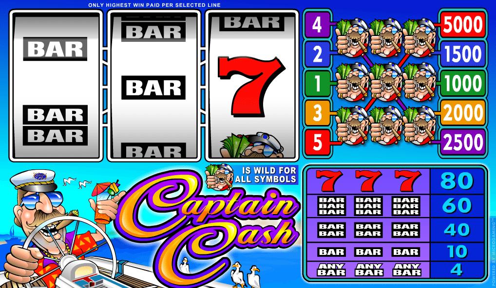 Kostenlose Spielautomat Captain Cash Online