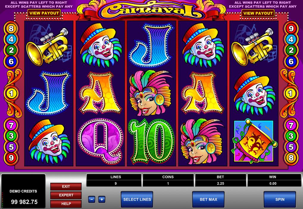 Casino Spiele Carnaval Online Kostenlos Spielen